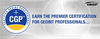 USGIF Offers First Entry-Level Geospatial Intelligence Certification